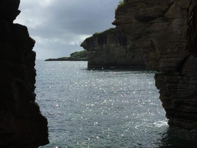 Caves at Elgol explore isle of skye