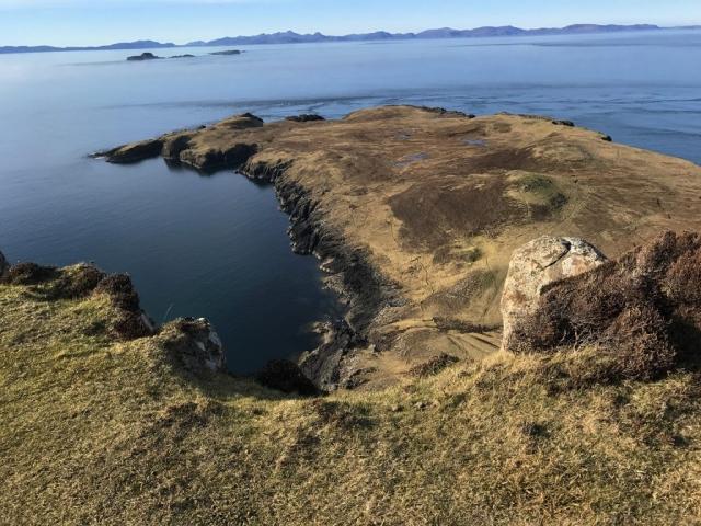Rhuba Hunish Duntulm isle of skye