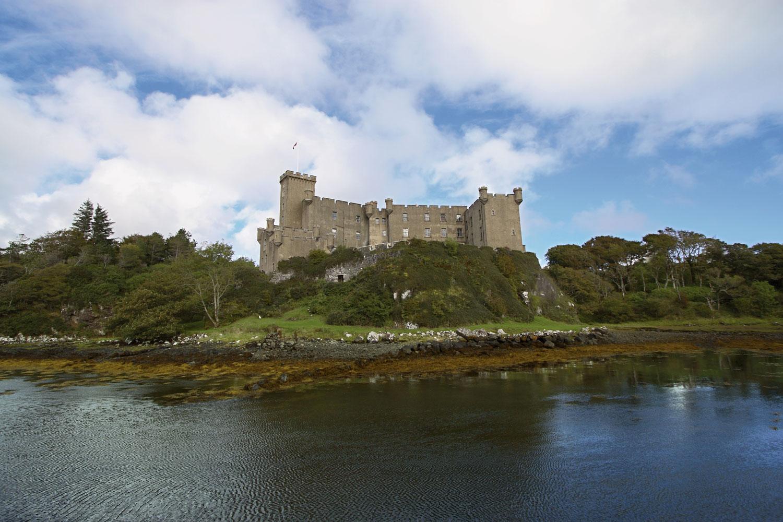 Skye Landscape Dunvegan Castle