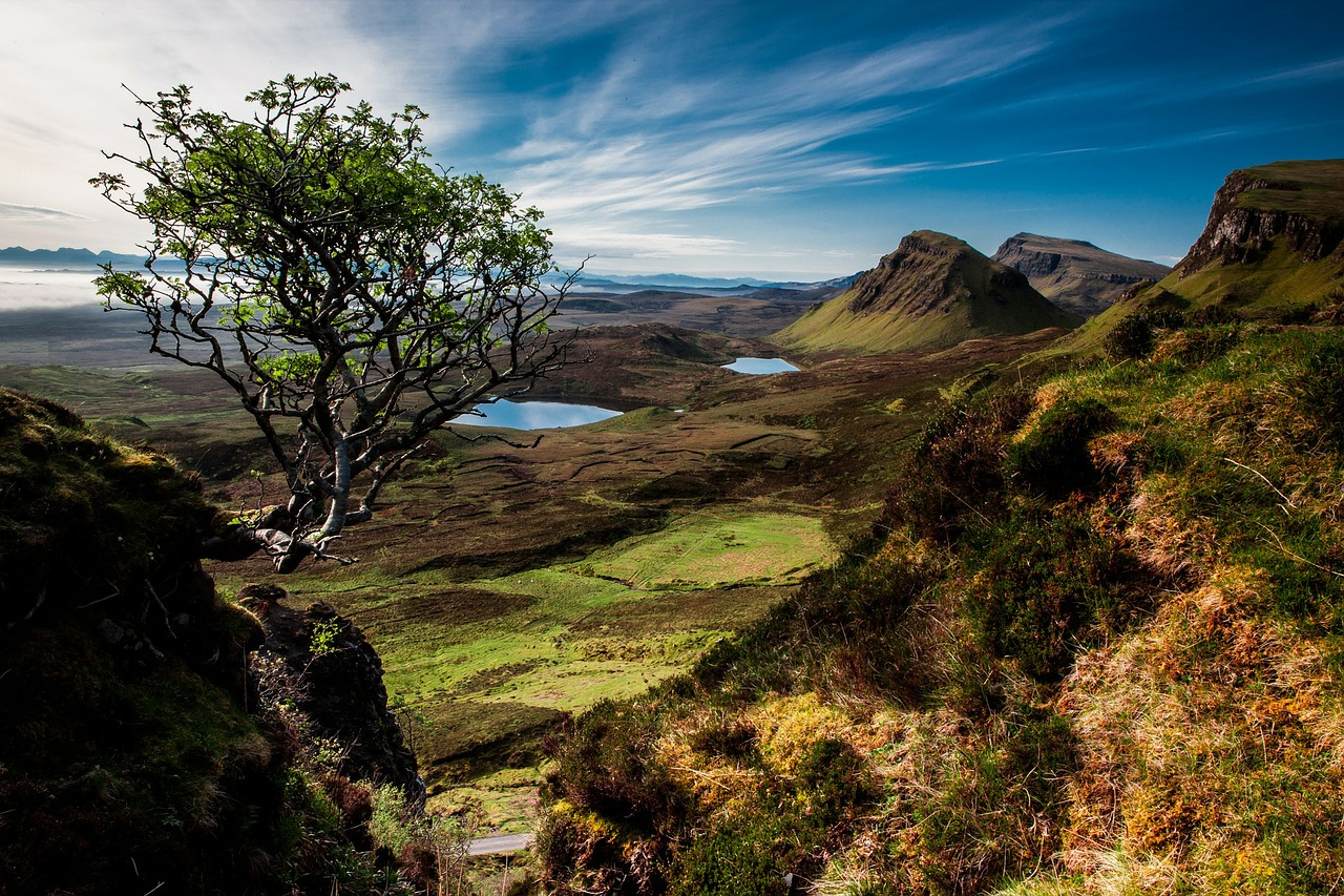Skye Landscape Quairaing