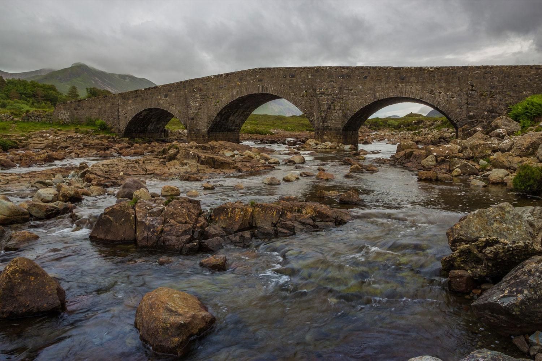 Skye Landscape Sligachan Bridge